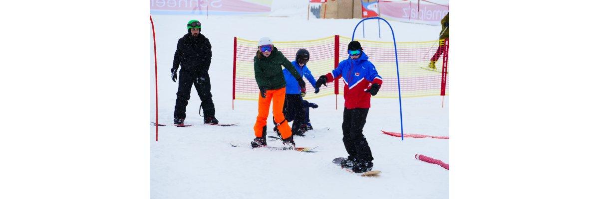 Gruppenkurse Ski und Snowboard